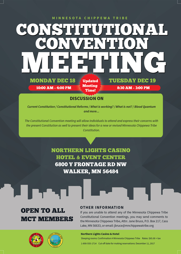 MCT Constitutional Convention Info Meeting