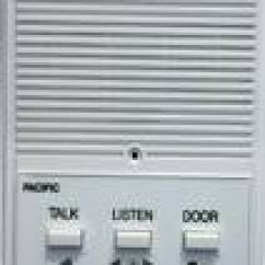Aiphone Lef 3 Wiring Diagram Cabinet Door Pacific Electronics 3403 3-wire Plastic Intercom Station