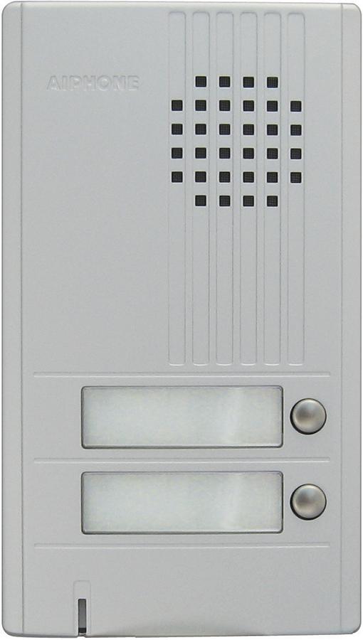 Aiphone DA-2DS 2 Call Door Intercom Station, Silver