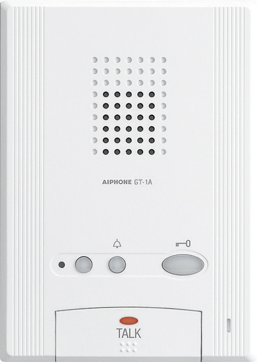 Aiphone GT-1A Audio Only Tenant Station for GT Series Intercom