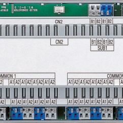 Aiphone Wiring Diagram 2004 F150 Gt-vbx Expanded Video Control Unit For The Gt Entrance Panel