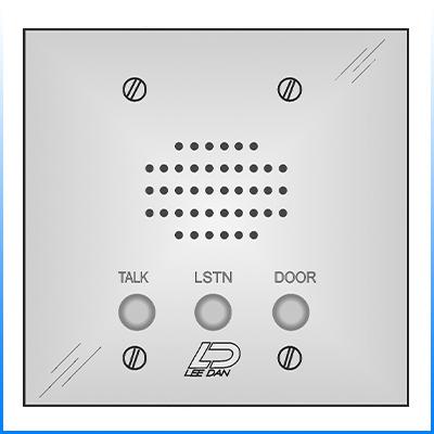 LEE DAN IR207 Stainless Steel w Plastic Buttons