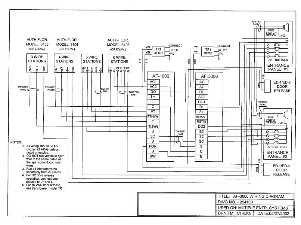 medium resolution of 4 wire intercom wiring instruction diagram wiring diagram third level4 wire intercom wiring instruction diagram wiring