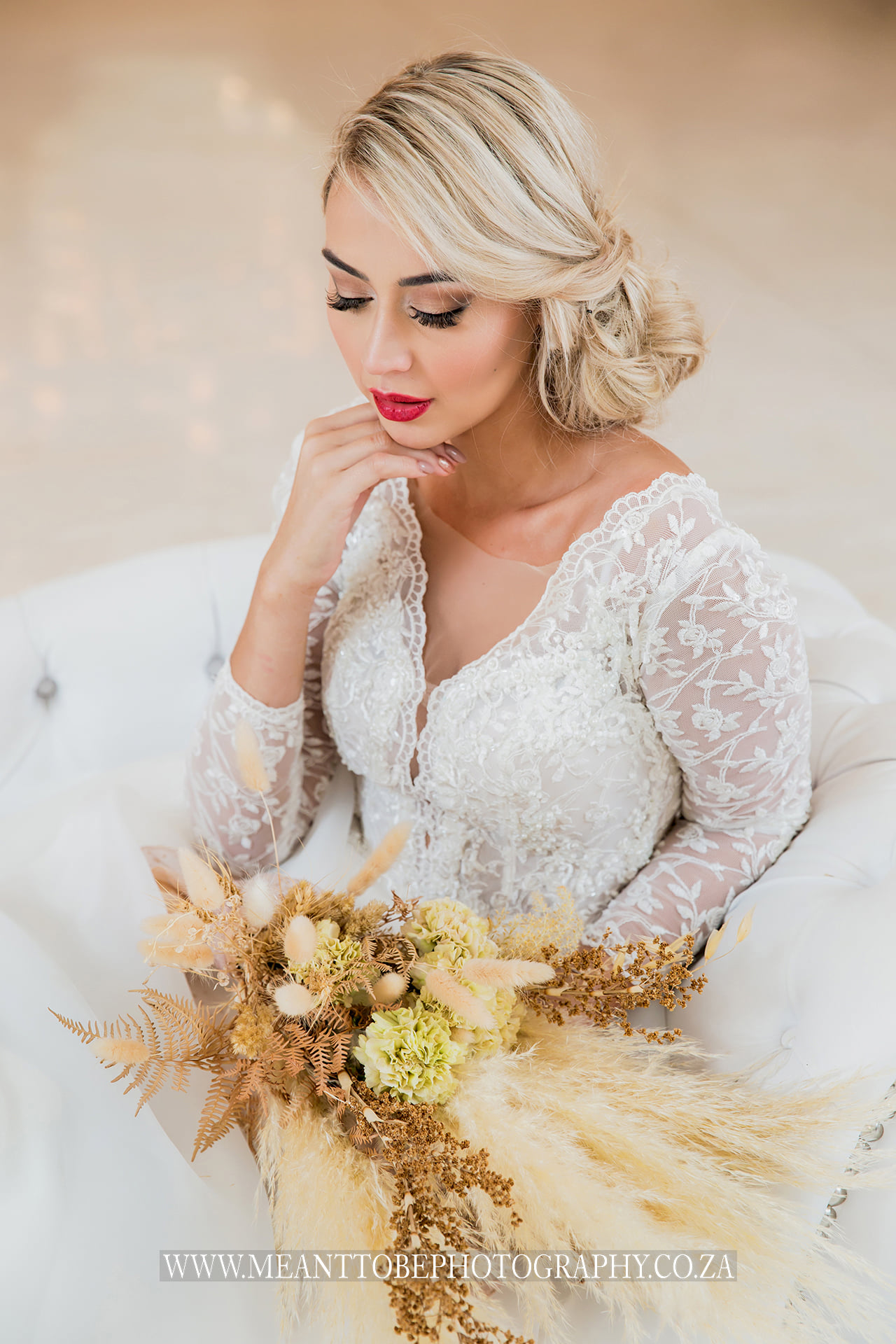 Bridal Hair and Makeup done by Leedra Glam Cape Town