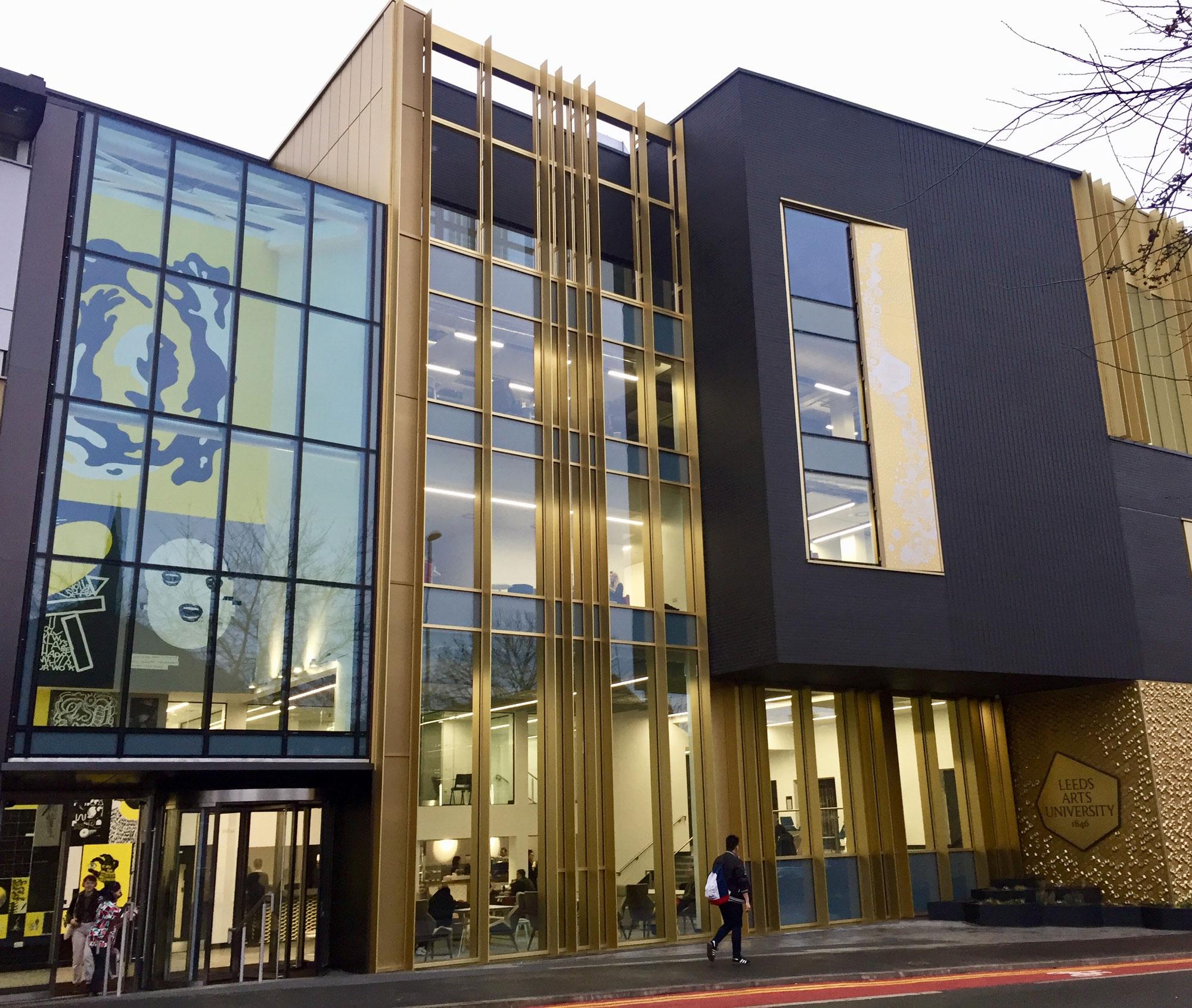 Arts Building Opens Leeds University