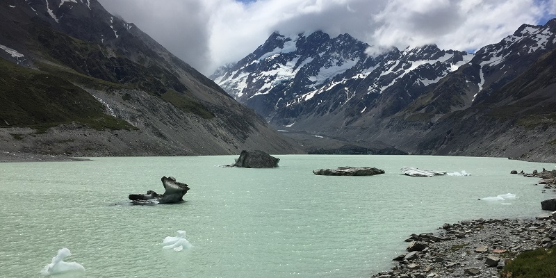 Meltwater lakes are accelerating glacier ice loss