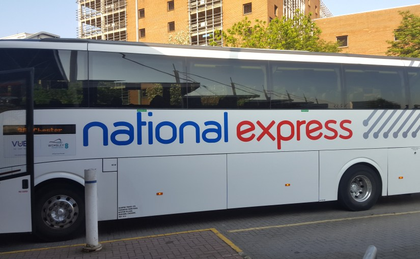 Coach Trip …. with National Express