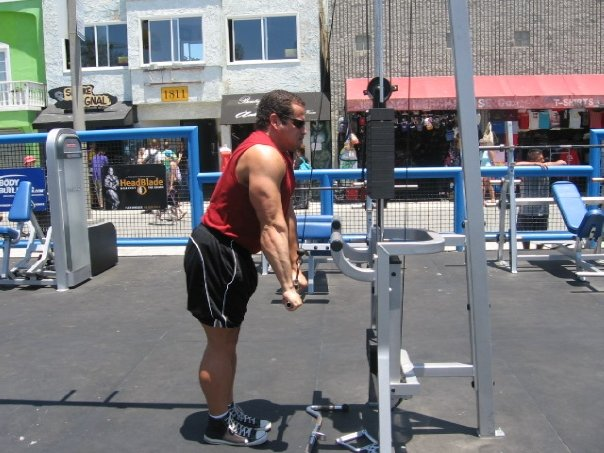 Muscle Beach Pictures Los Angeles California