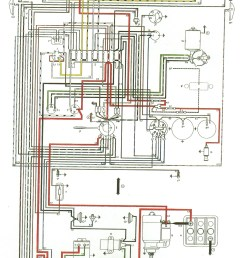 thesamba com type 3 view topic my new type 34 65 volkswagen wiring diagram 1965 vw [ 1873 x 3213 Pixel ]