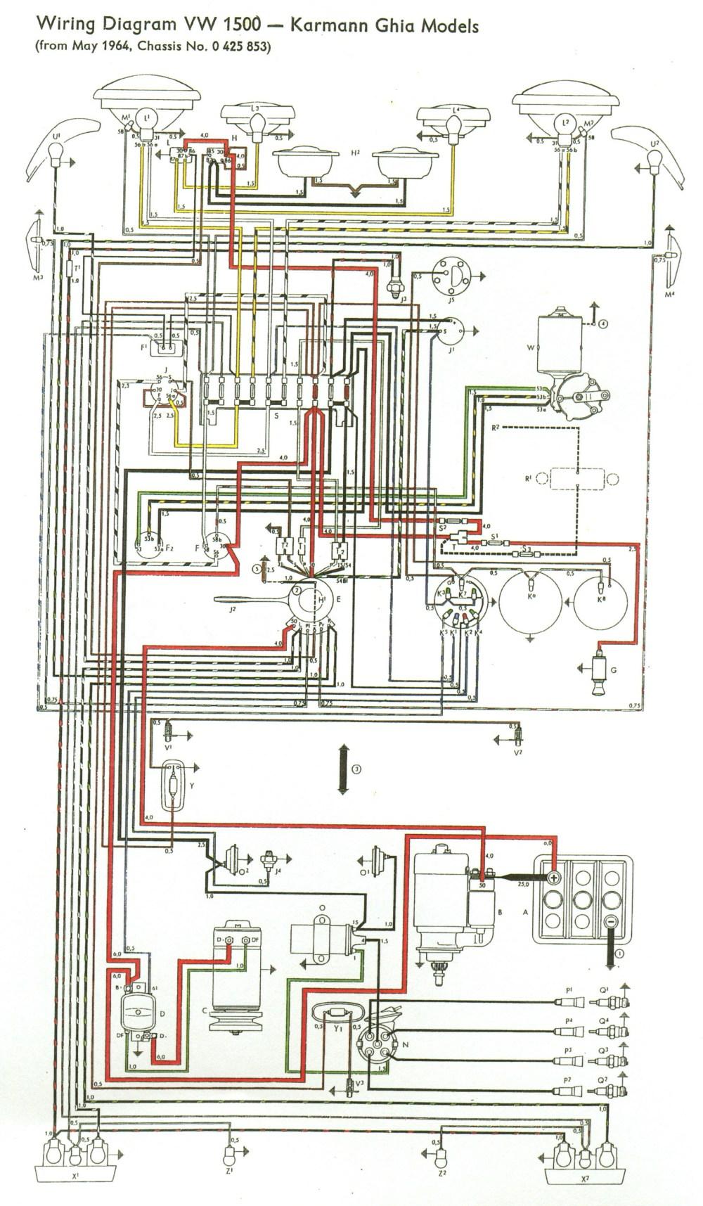 medium resolution of thesamba com type 3 view topic my new type 34 65 volkswagen wiring diagram 1965 vw
