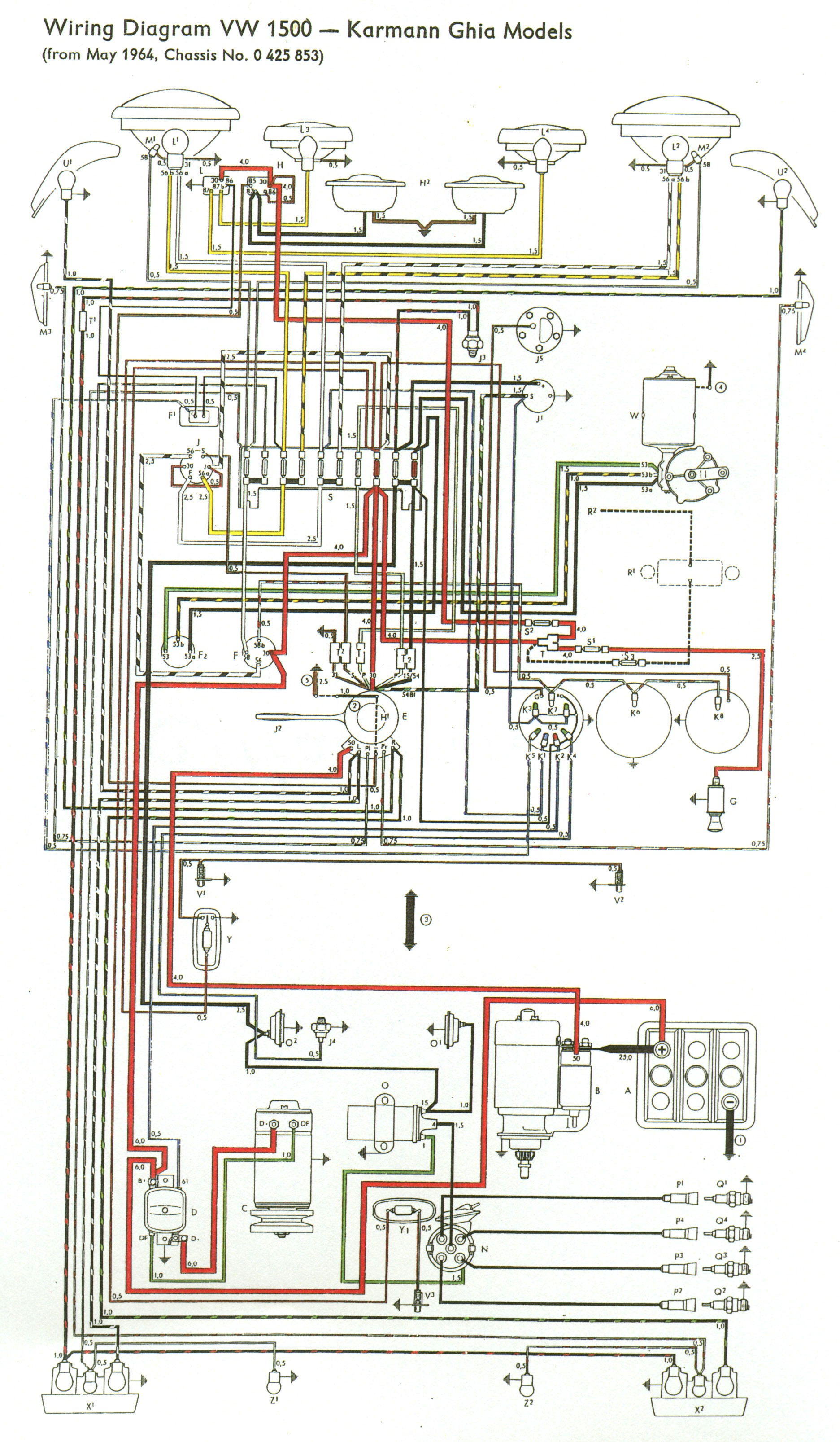 hight resolution of thesamba com type 3 view topic my new type 34 65 volkswagen wiring diagram 1965 vw