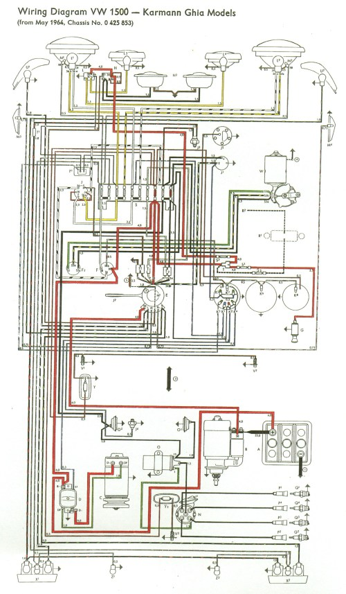 small resolution of thesamba com type 3 view topic my new type 34 65 volkswagen wiring diagram 1965 vw