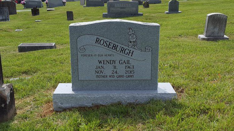 A single stone memorial