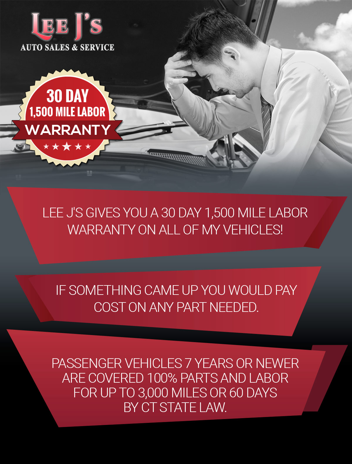 Used car warranties | extended service contracts | LeeJ's Auto Sales ...