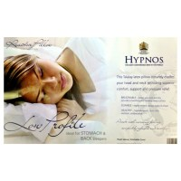 Hypnos Low Profile Latex Pillow | Leekes