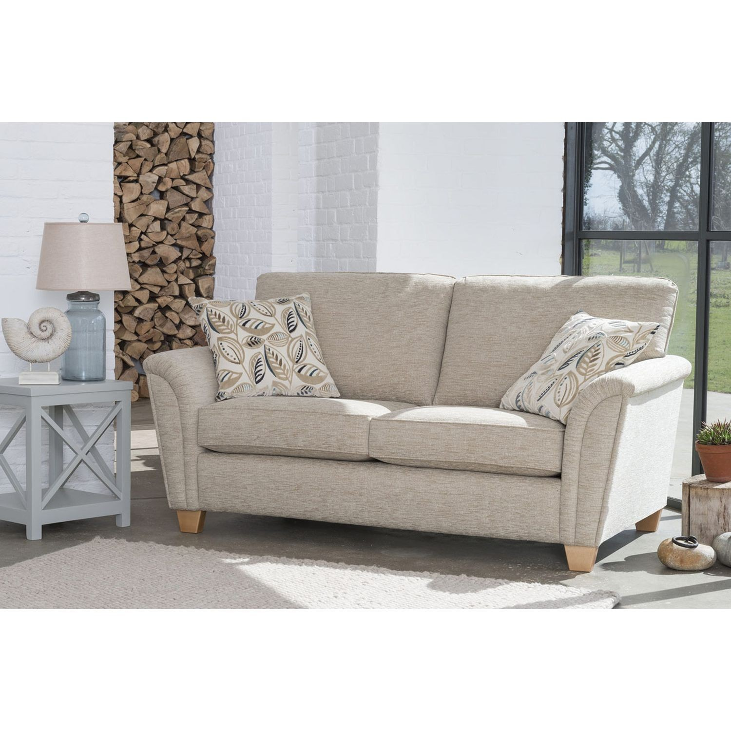 barcelona sofa big design couch 2 seater leekes