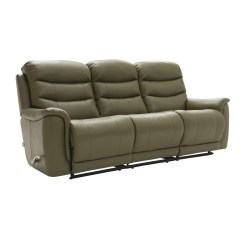 La Z Boy Recliner Chairs Uk Office Massage Chair Sheridan 3 Seater Manual Sofa Leekes