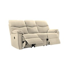 3 Seater Recliner Sofa Sale Bear T Shirt G Plan Henley Left Manual Leekes