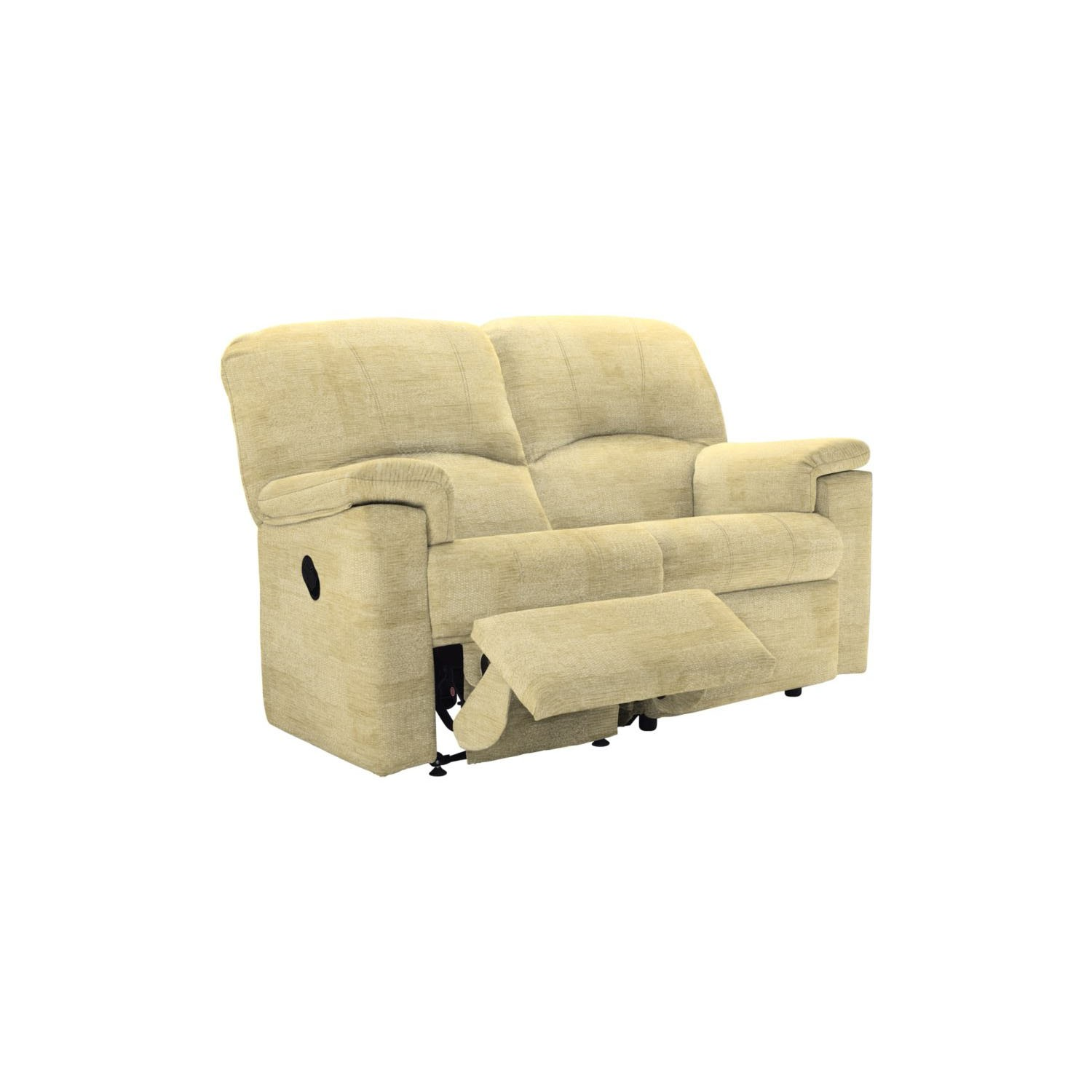 2 seater power recliner sofa covers with separate cushion g plan chloe double leekes