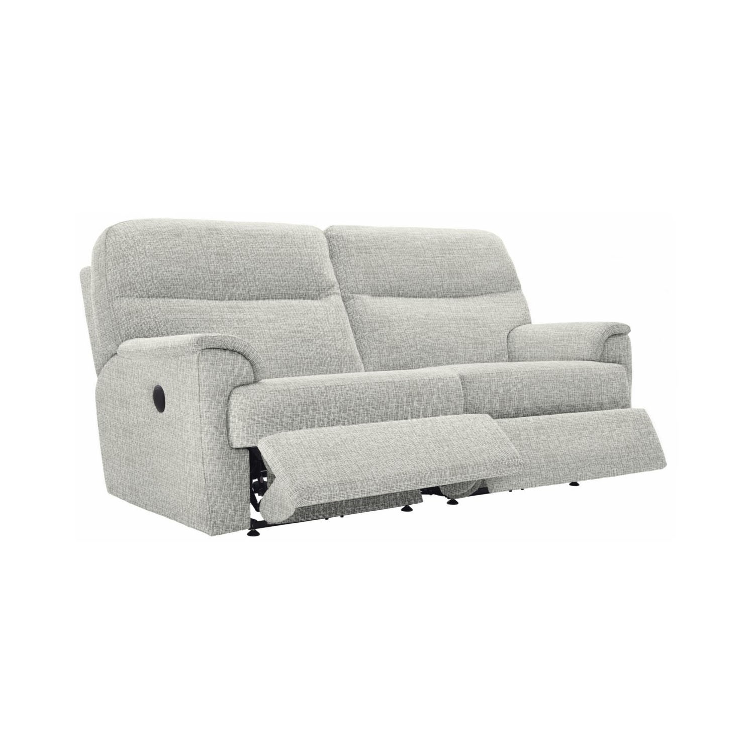 three seater recliner sofa leather and loveseat with recliners g plan watson 3 double leekes