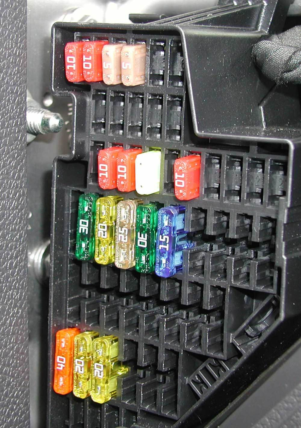 medium resolution of location of fuse box in audi a3 2011