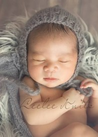 Newborn Pixie Hat Knitting Pattern