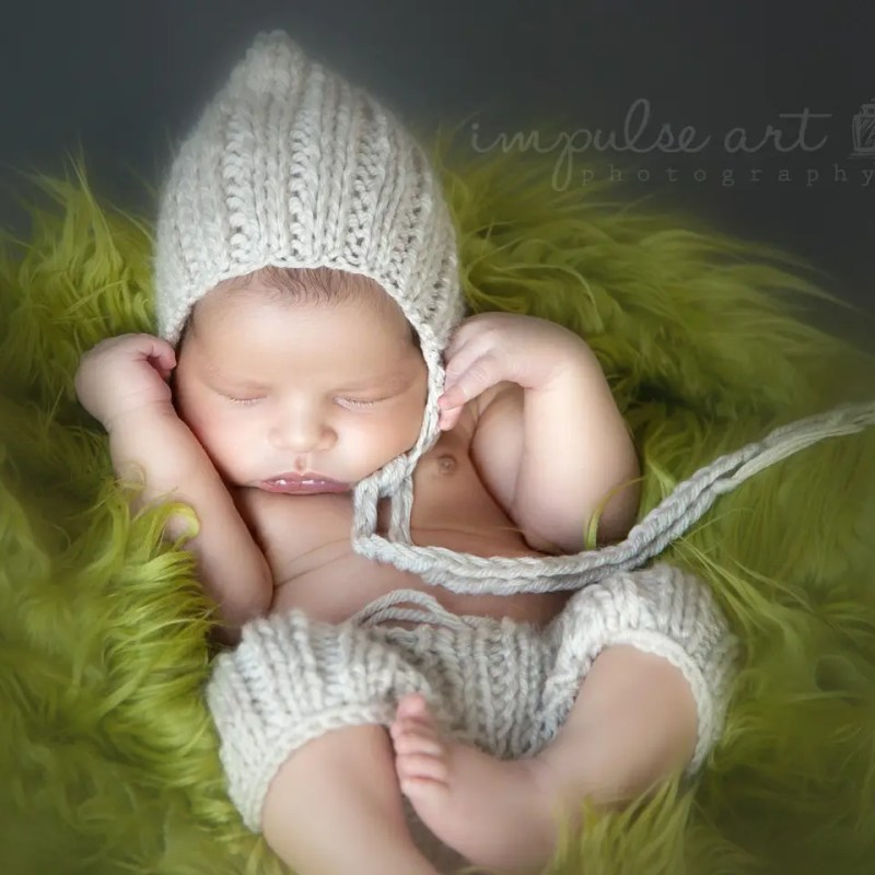 Newborn Baby Knitting Pattern