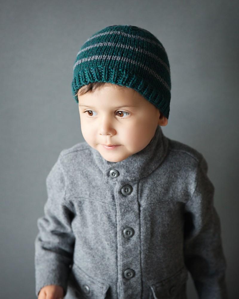 Free Toddler Beanie Knitting Pattern - Leelee Knits