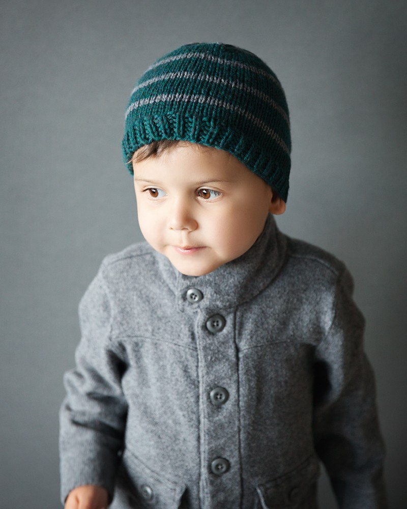 Free Toddler Beanie Knitting Pattern - Leelee Knits