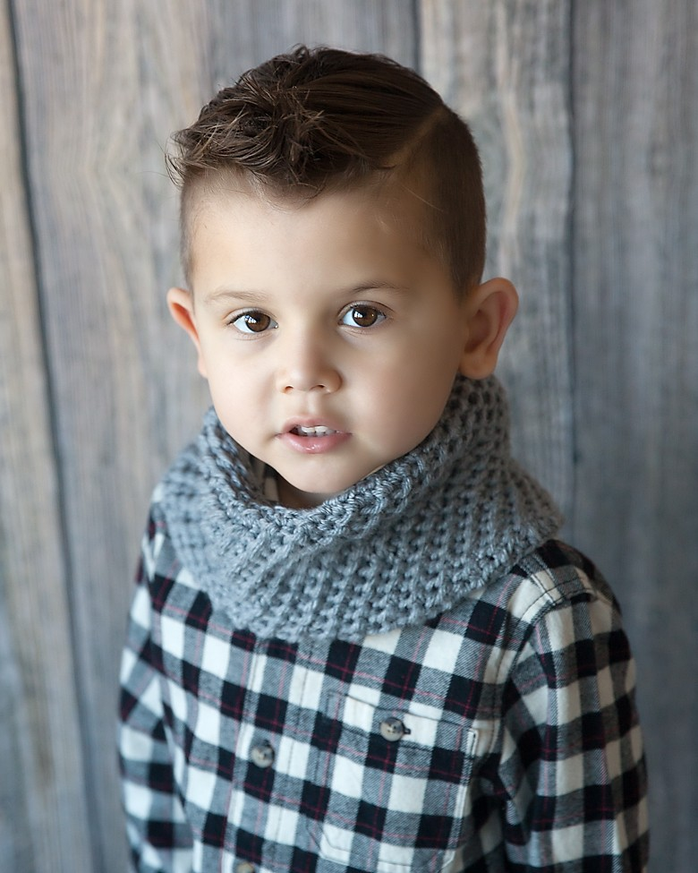 Manly Cowl Crochet Pattern 1