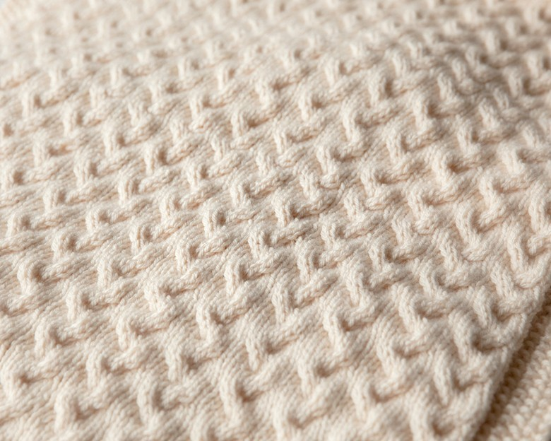 Tiny Ripples Free Baby Blanket Knitting Pattern Leelee Knits