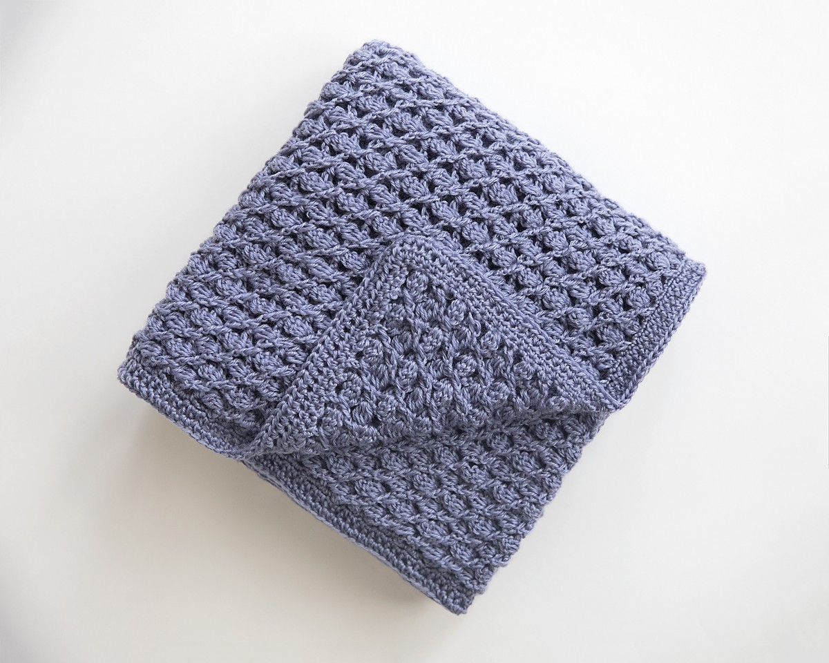 Free Heirloom Baby Blanket Crochet Pattern Leelee Knits