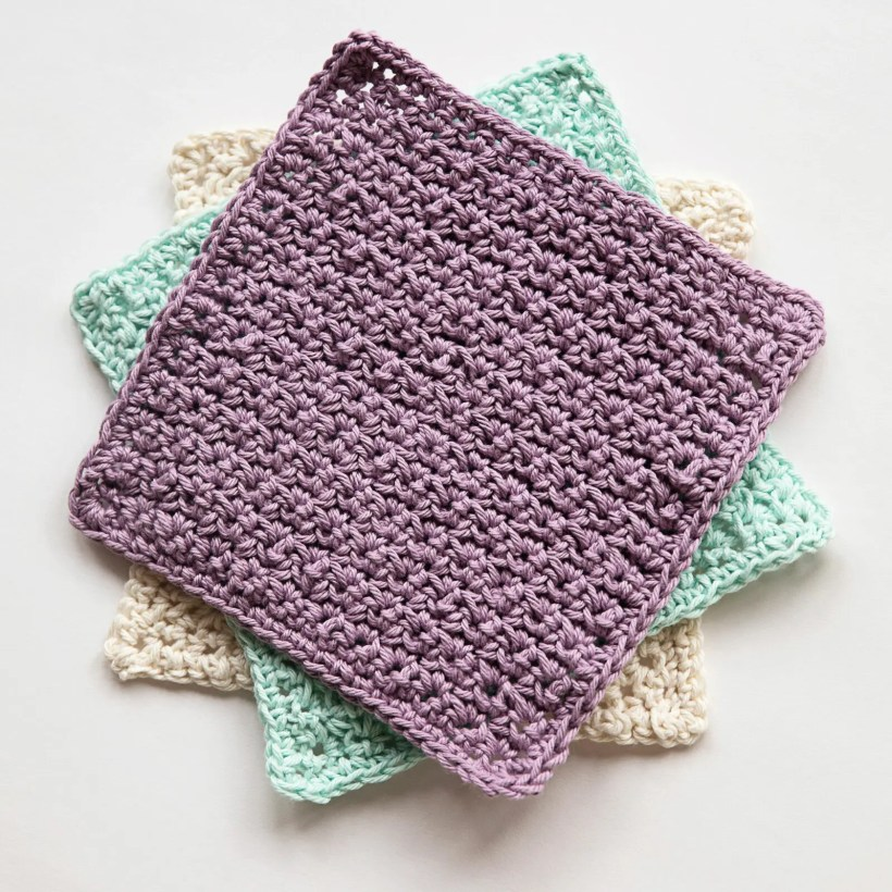 My Favourite Crochet Washcloth Leelee Knits