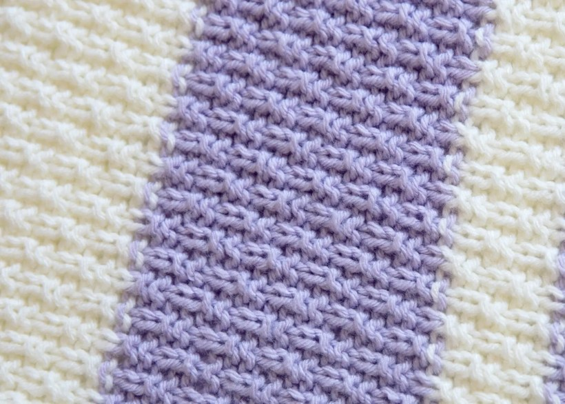 99d64a07856c9 Easy Knit Baby Blanket Pattern - Leelee Knits
