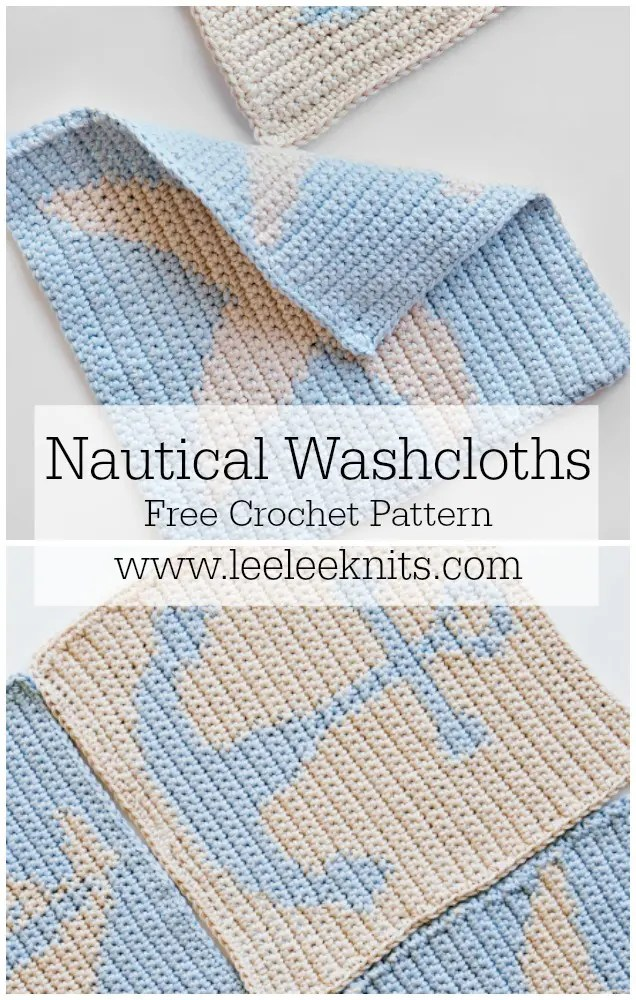 Nautical Washcloths Pattern Leelee Knits