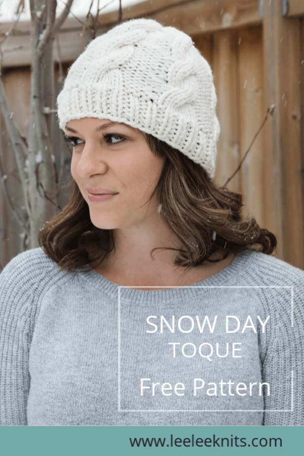 Nothing says January like a warm cable knit hat! I designed this toque to  be extra toasty since we are heading into our coldest months of the year. 5a054ba2016