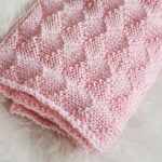 Diamonds And Purls Baby Blanket Knitting Pattern Leelee Knits