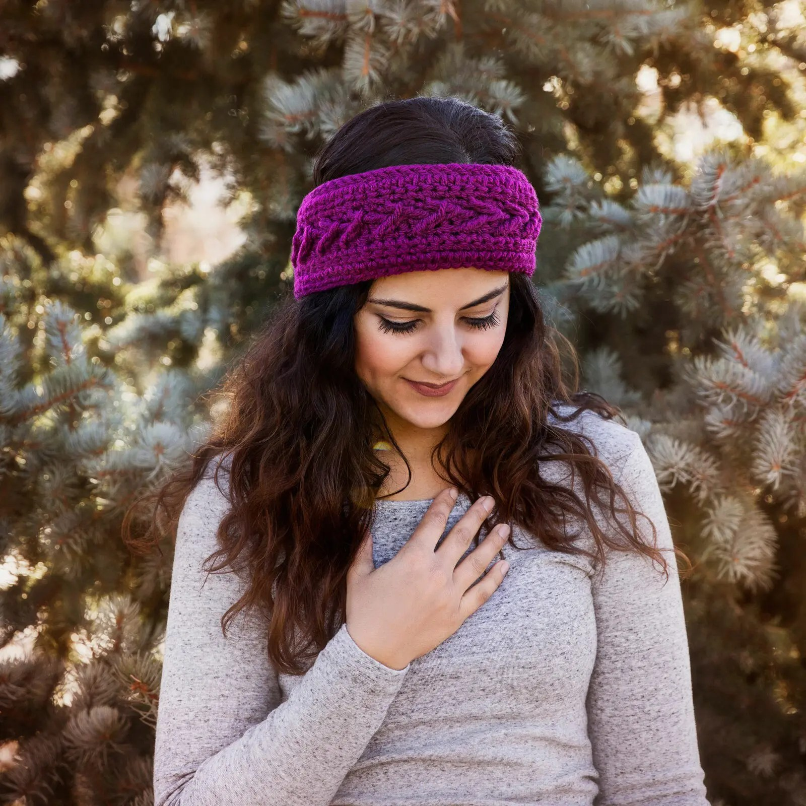 The Slopes Headband Crochet Pattern - Leelee Knits