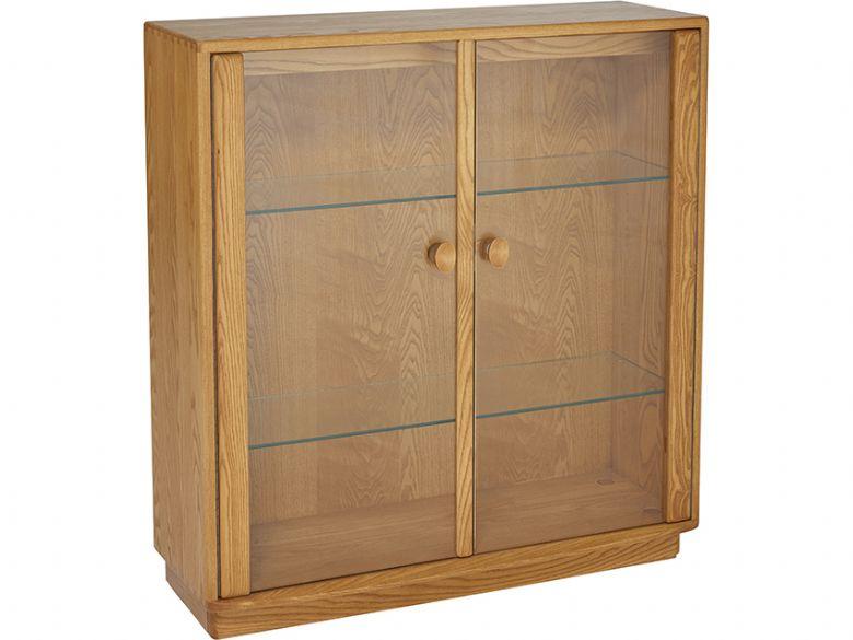 Ercol Windsor Small Display Cabinet  Lee Longlands