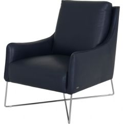 Natuzzi Lounge Chair Cape Cod Chairs Editions Porto Armchair Lee Longlands In Navy Blue Leather