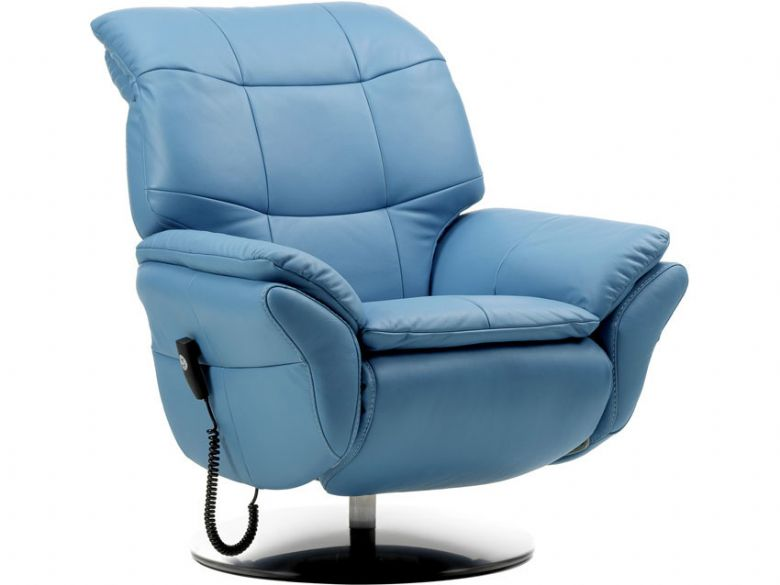 Stylo Leather Electric Recliner Chair  Lee Longlands