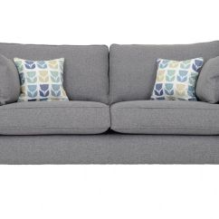 Fabric Sofas Uk Cheap Sofa With Lounger Norton 2 Seater Medium Modern Lee Longlands In Crystal Smoke