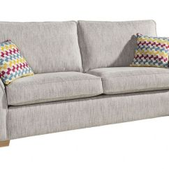 3 Seater Fabric Sofa Leather And Ottoman Set Alstons Spitfire Lee Longlands