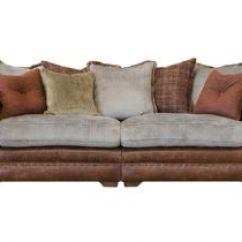 Leona 3 Seater Recliner Sofa Cognac Color Leather 4 Four With Interest Free Credit Grand Split