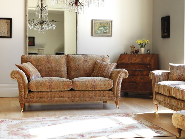 striped fabric sofas uk cheap sofa sets for sale parker knoll burghley - lee longlands
