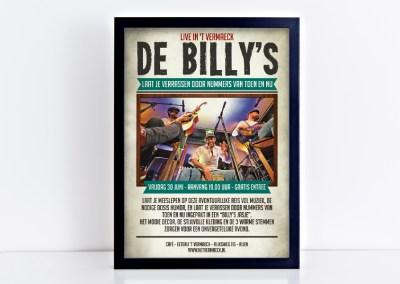 Poster de Billy's