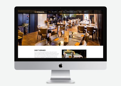 Website Café-Eeterij `t Vermaeck