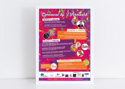 Poster Carnaval | Vermaeck Rijen
