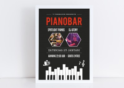 Poster Pianobar