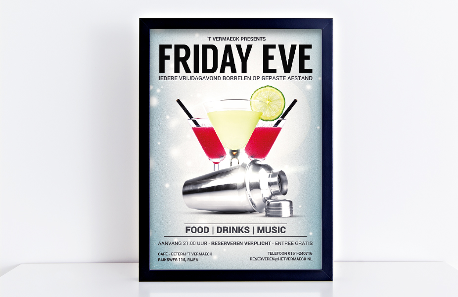 Poster Friday Eve